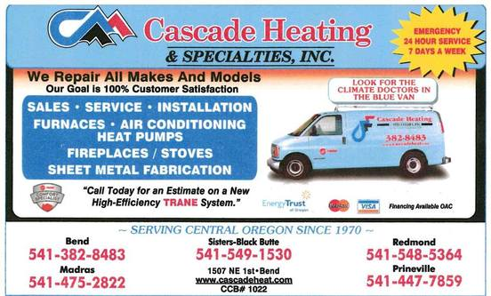 Heating and air conditioning in Bend OR
